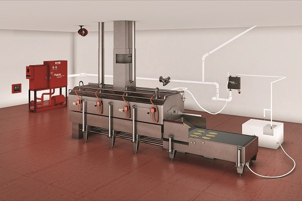 Tyco Extends Fire Protection Portfolio with Small-scale Industrial Fryers Application