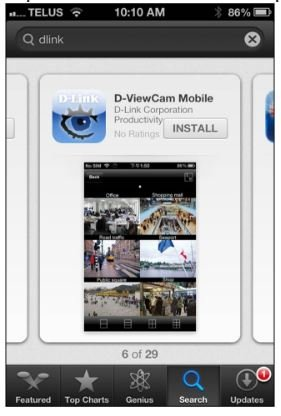 install D-ViewCam software