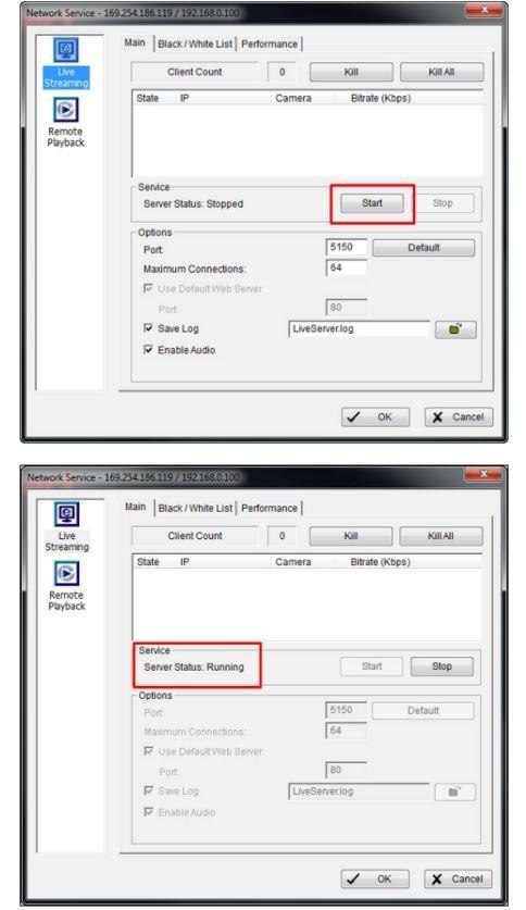 launch D-ViewCam software 2