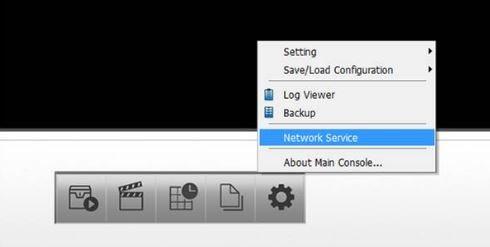 launch D-ViewCam software