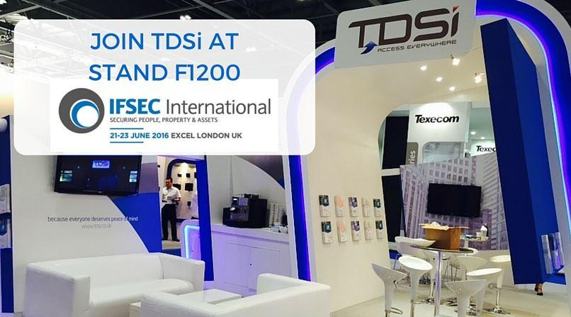 TDSi at IFSEC
