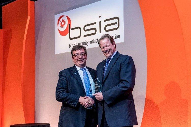 BSIA chairman's award John Davies TDSi
